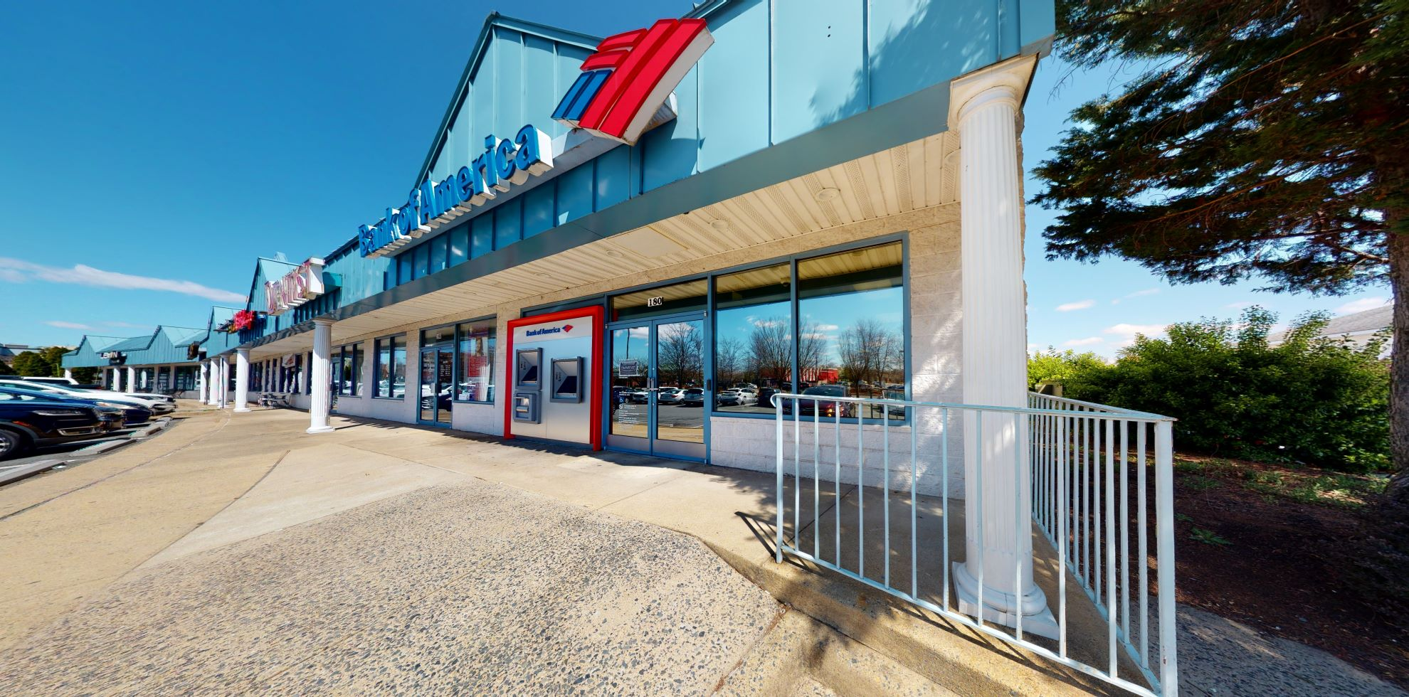 Bank of America financial center with walk-up ATM   45985 Regal Plz, Sterling, VA 20165